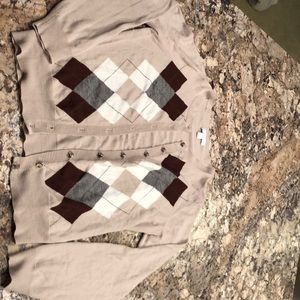 New York and Company brown cardigan